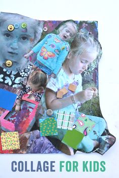 Mixed Media Collage Art for Kids