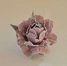 Frilly and Funkie: Blooming Rose Tutorial