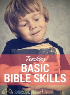 Teaching basic Bible skills will help kids know how the Bible is organized and how to navigate through their Bibles while they are studying or reading.
