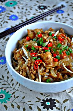 Stir Fried Mee Tai Bak (Rat Noodles)