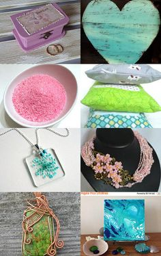 Happy Pastels by Bess on Etsy--Pinned with TreasuryPin.com