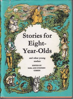 Stories for Eight-Year-Olds...Sara & Stephen Corrin...illustration  Shirley Hughes by ConstantCollectors on Etsy