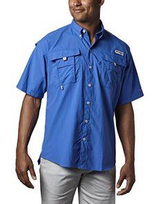 b349919529 Columbia Men s PFG Bahama II Short Sleeve Breathable Fishing Shirt   Click  image for more details.