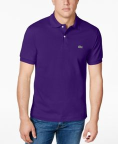 Lacoste Classic Pique Polo Shirt, L.12.12 - Purple 4XL