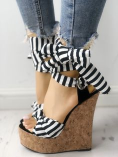 Details about  /New Women Round Toe Faux Leather Stretchy Hidden Wedge Heel Pull On Boots Shoes