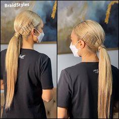 شینیون دم اسبی ساده پشت گردن Chignon Hair, Dreadlocks, Hair Styles, Beauty, Hair Plait Styles, Hair Makeup, Hairdos, Haircut Styles, Dreads