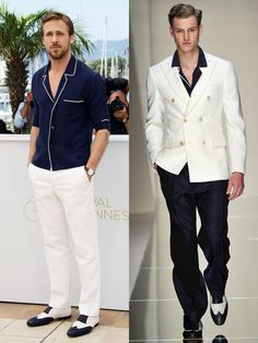 I love this look. Perfect for the Cannes Film Festival.
