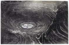 Bingham Copper Mining Pit, Utah Reclamation Project - Robert Smithson