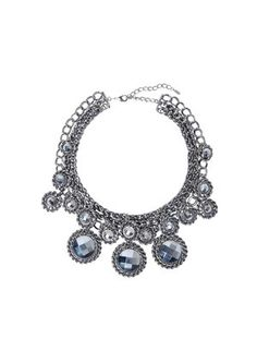 Multi-stone necklace crystal by Peeptoe  at J & R xx    https://www.julesroc.com.au/product_details/product/multi_stone_necklace_crystal