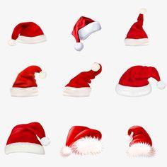 빨간색,크리스마스,모자 Christmas And New Year, Christmas Hats, New Years Hat, Photo Craft, Clipart Images, Santa Hat, Fun Activities, Clip Art, Ideas