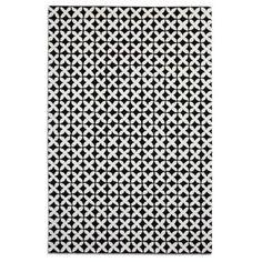 Debenhams Black cross wool 'Geometric' rug- at Debenhams.com