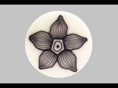 Millefiori cane: Fiore Fantasmino (polymer clay tutorial) In Italian by Sarah