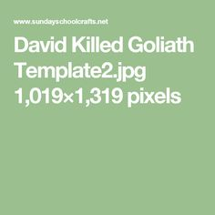 David Killed Goliath Template2.jpg 1,019×1,319 pixels