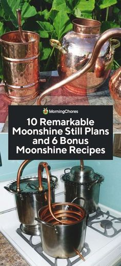 Oldtimers were creative in the ways they mademoon their own moonshine still plans. We share their innovation here, plus a few flavored moonshine recipes.