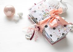 December 2017 Daily is ready - Yay :) - Scrap Sweet Scrap Diy Mini Album, Mini Albums Scrap, December Daily, Christmas Journal, Scrapbooking, Book Making, Junk Journal, Gift Wrapping, Paper