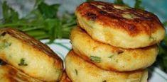 Șnițele din cartofi, cu ceapă verde și cașcaval – Am mâncat ieri pentru prima dată și m-au cucerit definitiv Bagel, Baked Potato, Zucchini, French Toast, Deserts, Dessert Recipes, Potatoes, Yummy Food, Bread