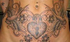 9 Best & Cute Belly Button Tattoo Designs Tattoos And Body Art belly button tattoo Girly Tattoos, Tattoos Skull, Sexy Tattoos, Body Art Tattoos, Tribal Tattoos, Celtic Tattoos, Tatoos, Belly Button Tattoos, Lower Stomach Tattoos