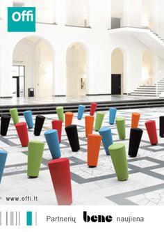 Partnerių naujiena. Dinamiškas biuras. http://bene.com/en/office-magazine/workplace-in-motion-create-a-dynamic-office/