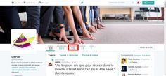 500 followers sur la page Twitter animée pour le CNFDI