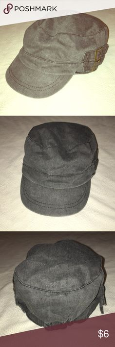 3fcad2d98b8 Cute conductors hat Like new! Only worn once. Grey color is neutral and goes