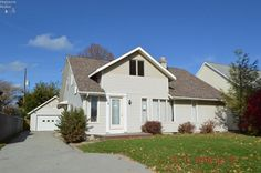 $104,000 4-5 bedroom 2 1/2 bath home in Perkins Township. Interior features include first floor laundry, tons of storage in the kitchen, dining/living room combo with fireplace, spiral stair case, master suite with private bath, open second story with play area/office and more! Exterior features include 2 car detached garage, paved drive, shed, nice backyard and more! Property is being sold As-Is.