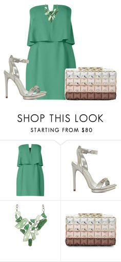 """Untitled #2302"" by janicemckay ❤ liked on Polyvore featuring BCBGMAXAZRIA, women's clothing, women's fashion, women, female, woman, misses and juniors"