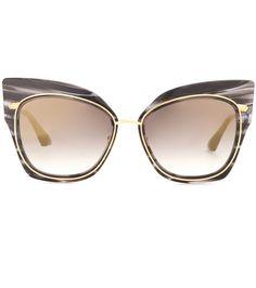 b2b2bd910c Dita Eyewear - Stormy cat-eye sunglasses - Opt for impact with Dita  Eyewear s sunglasses