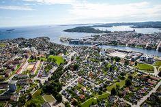 Flyfoto Lund Kristiansand Kristiansand, Lund, Norway, Paris Skyline, Country, Travel, Viajes, Rural Area, Traveling