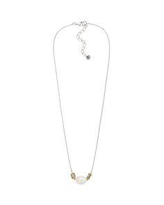 Simple Pearl Necklace, Necklaces - Silpada Designs
