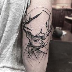 Sketch tattoos, les tatouages en esquisses de Frank Carrilho