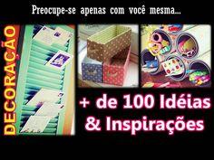 Maio #28 | DECORAÇÃO: Mais de 100 Idéias & Inspirações (DIY)