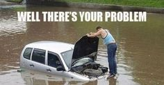 DOH! words cannot explain! Click on the image for '15 of the Funniest Car Memes' #lol #spon