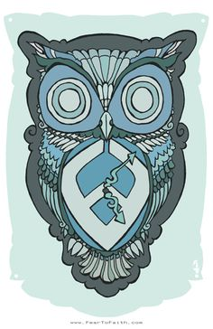 NEW Winston the Owl Poster – $10.00