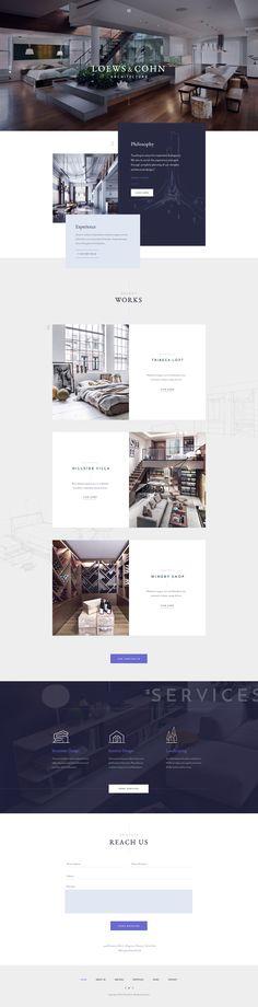 Architecture website - Wordpress theme $55