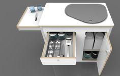 Kitchen Pod | VW Camper Van Conversions