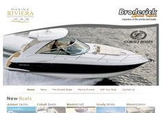 Marina Riviera - webTorch Portfolio Azimut Yachts, Small Company, Boat, Dinghy, Boats, Ship