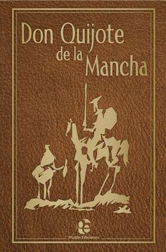 El Quijote narra la historia de un hidalgo manchego, de unos cincuenta años, que se vuelve loco por leer muchos libros de caballerías. Una de las muchas ediciones y versiones de este libro