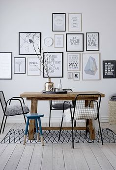 Lovely Danish design, from Bloomingville....   haken's place