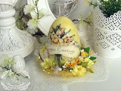 Craft Premier: Вдохновение от дизайнера Татьяны Ольховиковой. Пасхальное яйцо