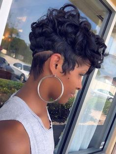 50 Pretty Short Curls You Need to Try in 2018. We have seen that ladies who have naturally curly find sometime a little difficulty to style them according to modern way. We suggest you to go for short curly hair if you still can't find the appropriate haircut style for you. In this post of content we are going to show you some amazing ideas to style the curly haircuts for short hair in 2018.