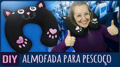 Hoje vou ensinar a fazer uma almofada de gatinho para pescoço, que é aquela bem usada para viagens. Vamos aprender? Parceiro: http://www.blackpanda.com.br ➼ ...