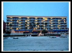 View of the DoubleTree North Redington Beach Hotel from the beach. Great hotel with kids! Hotel Review. Beach Hotels, Beach Resorts, Great Hotel, Cheap Web Hosting, Hotel Reviews, Tampa Bay, Photo Wall, Florida, Spaces