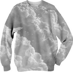 Clouds Sweater from Print All Over Me