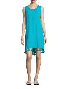 Marabelle Cotton Printed Swing Dress