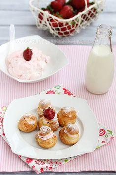 Strawberry profiteroles by kupenska.deviantart.com on @deviantART