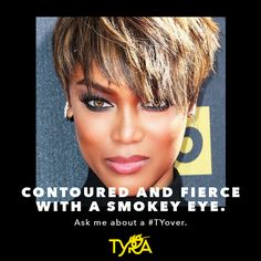 Contouring with TYRA beauty. Check out how to get Tyra's Tyover look... https://tyra.com/beautytips/en/us/join-our-crew-new #contouring