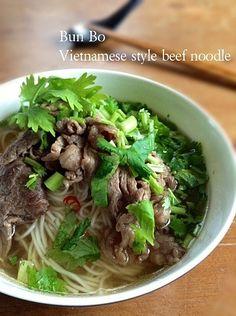 フォーのレシピまとめ!アジアン気分でベトナム料理を召し上がれ ... 素麺でベトナムの牛肉フォー風