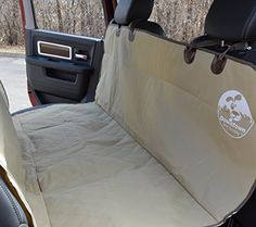 Premium Bench Car Seat Cover For Pet  FREE PET SEATBELT Protect Leather Cloth from Dog Cat Kid. Water Resistant Machine Washable Cars SUV & Trucks-(Size:XL 60 Tan)Downtown Pet Supply https://dogcratesandkennelsreviews.info/premium-bench-car-seat-cover-for-pet-free-pet-seatbelt-protect-leather-cloth-from-dog-cat-kid-water-resistant-machine-washable-cars-suv-trucks-sizexl-60-tandowntown-pet-supply/