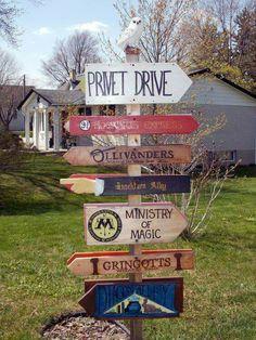 Harru Potter garden