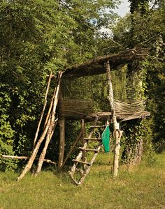 If I ever have any boys I'm sure they will have one of these...and I can guarantee it will double as a tree stand for Taylor...haha